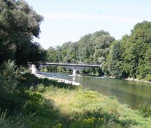 Die Isar bei Freising