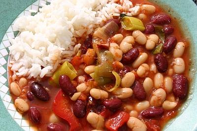 Chili sin Carne - Bohnen-Chili ohne Fleisch