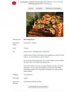 mein-pflanzenarchiv.de - Eintrag