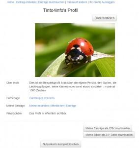 mein-pflanzenarchiv.de - Profil