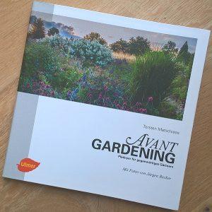 Avantgardening Buchcover mit Werbelink zu Amazon.de