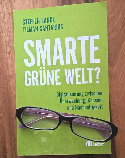Smarte grüne Welt - Buchcover mit Werbelink