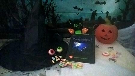 Halloween-Deko-Errungenschaften für meinen Halloween-Kinderkrimi (Werbelink zu Amazon.de)