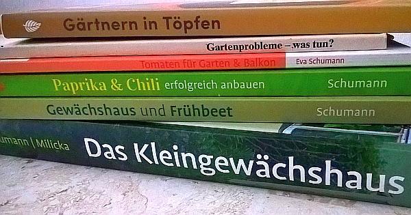 Gartenbücher Eva Schumann (Werbelink zu Amazon.de)