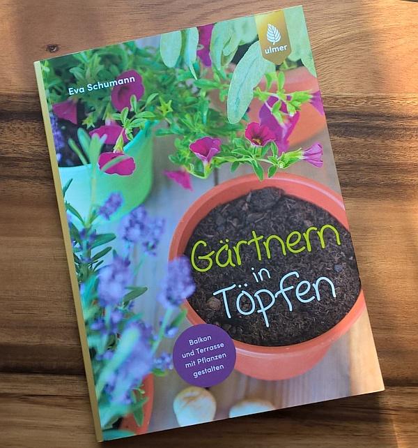 Buchtipp: Gärtnern in Töpfen - Garten, Terrasse, Balkon, Eingangsbereich - Werbelink Amazon.de