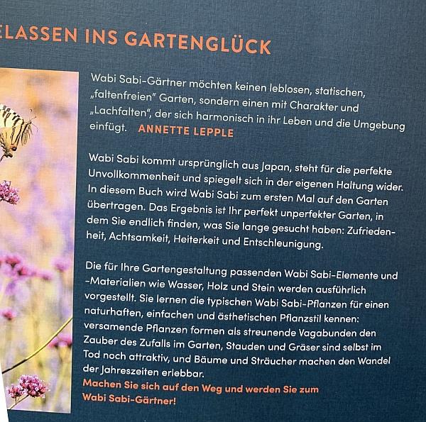 Mein Wabi Sabi Garten - Werbelink zu Amazon.de